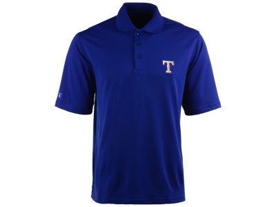 Texas Rangers MLB Men's Pique Extra Lite Polo Shirt