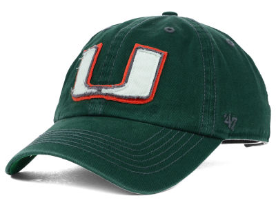 Miami Hurricanes '47 NCAA Gibraltar '47 Clean Up Cap