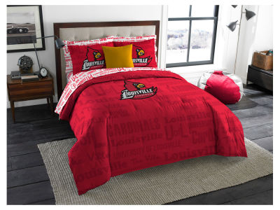 Louisville Cardinals The Northwest Company Full Bed in Bag