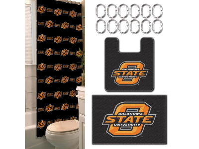 Oklahoma State Cowboys 15pc Bath Set