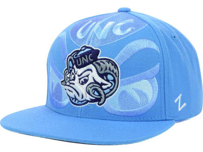 North Carolina Tar Heels Zephyr NCAA Covert TC Snapback Cap