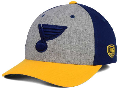 St. Louis Blues Old Time Hockey NHL Triplex Flex Cap
