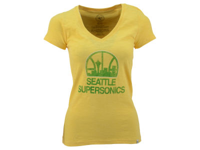 Seattle SuperSonics '47 NBA Womens Hot Logo T-Shirt