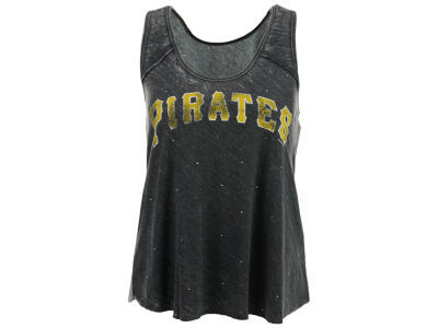 Pittsburgh Pirates GIII MLB Women's Over Dyed Tank