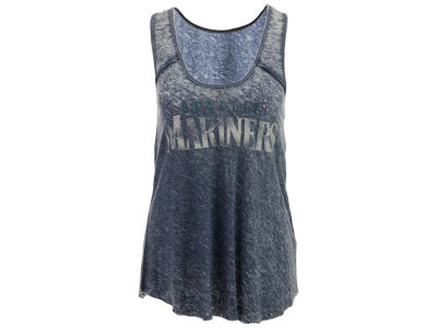 Seattle Mariners GIII MLB Women's Over Dyed Tank