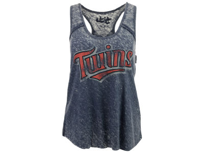 Minnesota Twins GIII MLB Women's Over Dyed Tank
