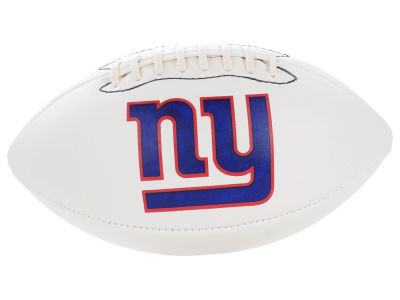 New York Giants NFL Autograph Football