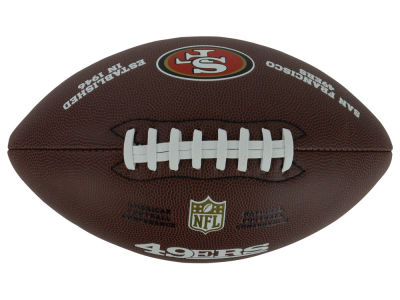 San Francisco 49ers NFL Composite Football