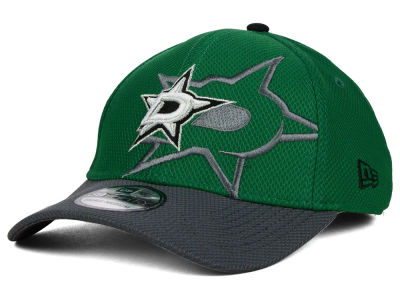 Dallas Stars New Era NHL Shadow Graphite 39THIRTY Cap
