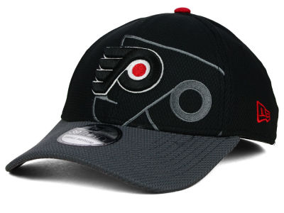 Philadelphia Flyers New Era NHL Shadow Graphite 39THIRTY Cap