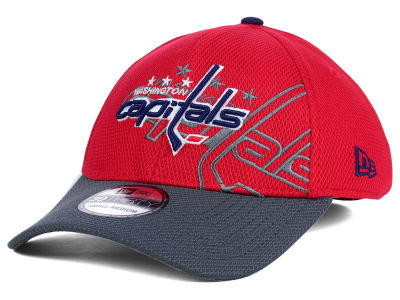 Washington Capitals New Era NHL Shadow Graphite 39THIRTY Cap