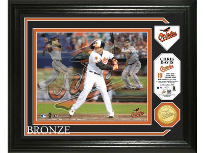 Baltimore Orioles Chris Davis Photo Mint Coin-Bronze