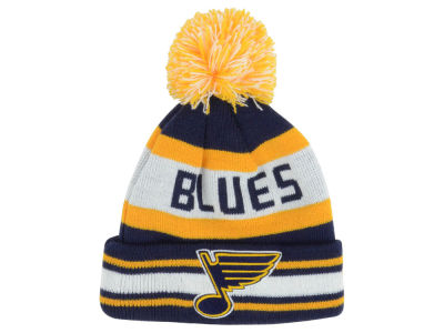 St. Louis Blues New Era NHL Kids Jacob Pom Knit