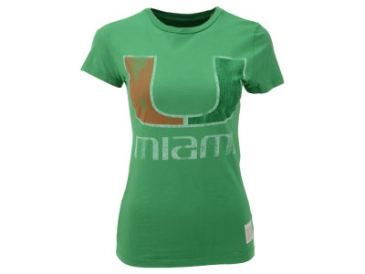 Miami Hurricanes NCAA Womens Vintage T-Shirt