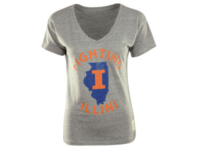 Illinois Fighting Illini NCAA Womens Boyfriend V-Neck