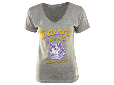 Washington Huskies NCAA Womens Boyfriend V-Neck