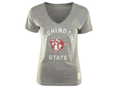 Washington State Cougars NCAA Womens Boyfriend V-Neck