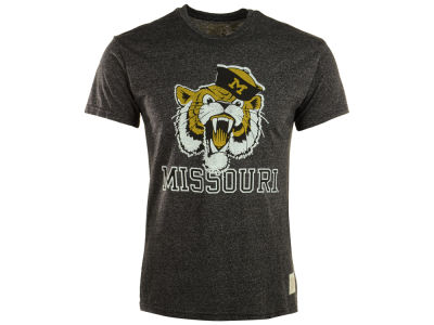 Missouri Tigers Retro Brand NCAA Mock Twist T-Shirt