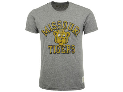 Missouri Tigers Retro Brand NCAA Triblend Streaky T-Shirt