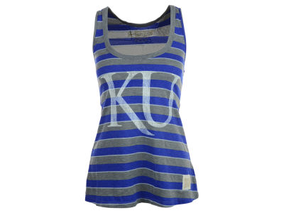 Kansas Jayhawks NCAA Womens Yarn Dye Tank