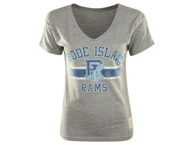 Rhode Island Rams NCAA Womens Boyfriend V-Neck