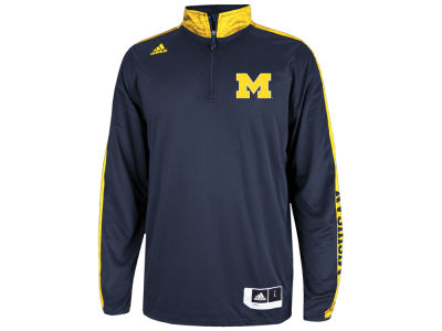 Michigan Wolverines adidas NCAA On Court Long Sleeve Shooter