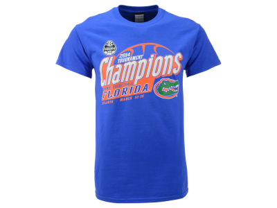 Florida Gators Blue 84 NCAA 2014 SEC Basketball Tourney Champs T-Shirt