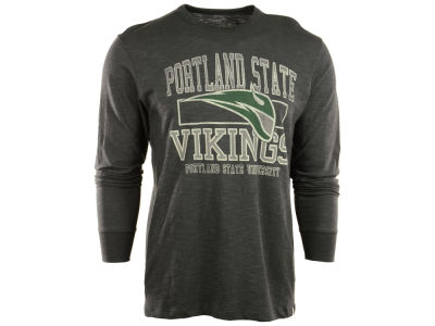 Portland State Vikings NCAA Stacked Long Sleeve Scrum T-Shirt