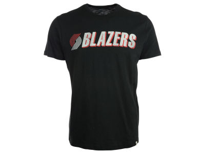 Portland Trail Blazers '47 NBA Wordmark Scrum T-Shirt