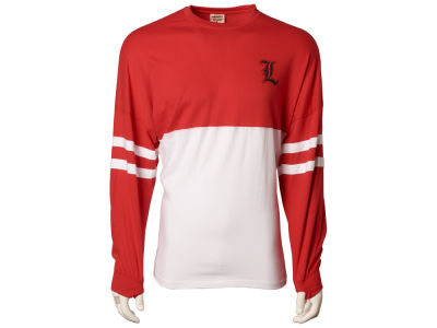 Louisville Cardinals NCAA Women's Varsity Sweeper Long Sleeve T-Shirt