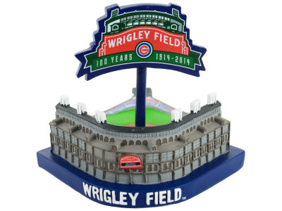 Chicago Cubs Wrigley 100th Stadium Model