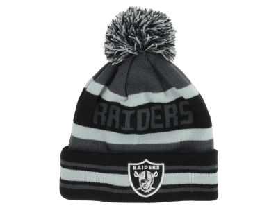 Oakland Raiders NFL Graphite Black Team Color Pop Jake Knit