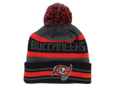 Tampa Bay Buccaneers New Era NFL Graphite Black Team Color Pop Jake Knit