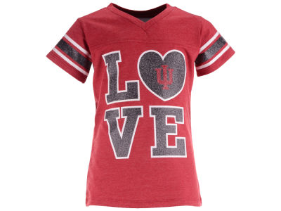 Indiana Hoosiers NCAA Girls Pixie Love T-Shirt