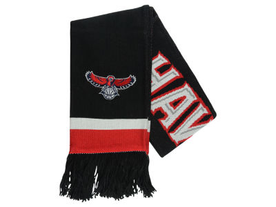 Atlanta Hawks Mitchell and Ness NBA Blackout Team Stripe Scarf