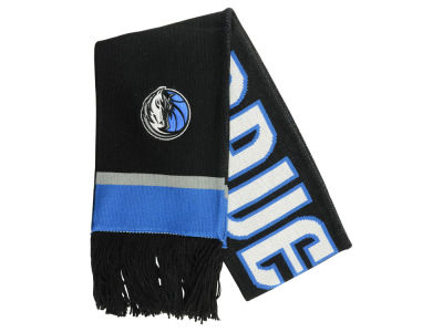 Dallas Mavericks Mitchell and Ness NBA Blackout Team Stripe Scarf