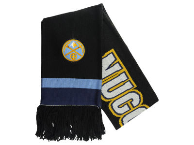 Denver Nuggets Mitchell and Ness NBA Blackout Team Stripe Scarf
