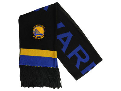 Golden State Warriors Mitchell & Ness NBA Blackout Team Stripe Scarf