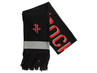 Houston Rockets Mitchell & Ness NBA Blackout Team Stripe Scarf