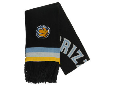 Memphis Grizzlies Mitchell and Ness NBA Blackout Team Stripe Scarf