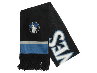 Minnesota Timberwolves Mitchell and Ness NBA Blackout Team Stripe Scarf
