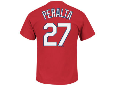 St. Louis Cardinals Jhonny Peralta Majestic MLB Youth Official Player T-Shirt