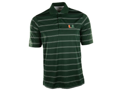 Miami Hurricanes Antigua NCAA Deluxe Polo