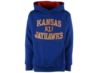 Kansas Jayhawks NCAA Youth Girls Fieldcrest Hoodie