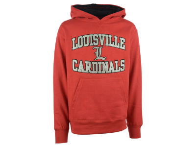 Louisville Cardinals NCAA Youth Girls Fieldcrest Hoodie