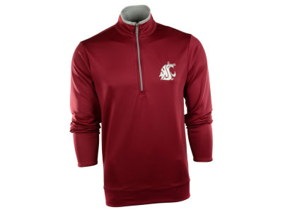 Washington State Cougars NCAA Leader Pullover Quarter Zip