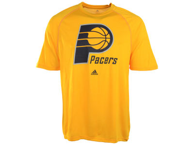 Indiana Pacers adidas NBA Primary Logo Climalite T-Shirt