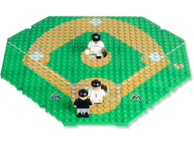 Miami Marlins MLB OYO Team Infield Set