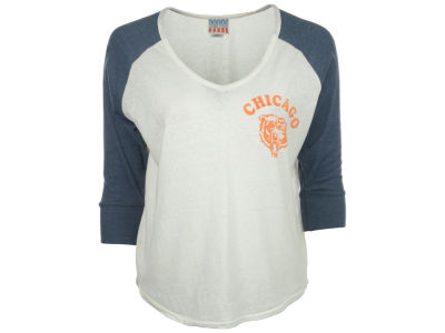 Chicago Bears NFL Womens Victory V-Neck Raglan 2014