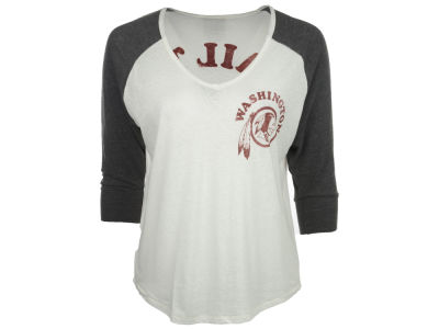 Washington Redskins NFL Womens Victory V-Neck Raglan 2014